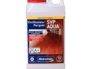 """Vitrificateur parquet """"SVP AQUA"""" 2 composants 1 L - Blanchon"""